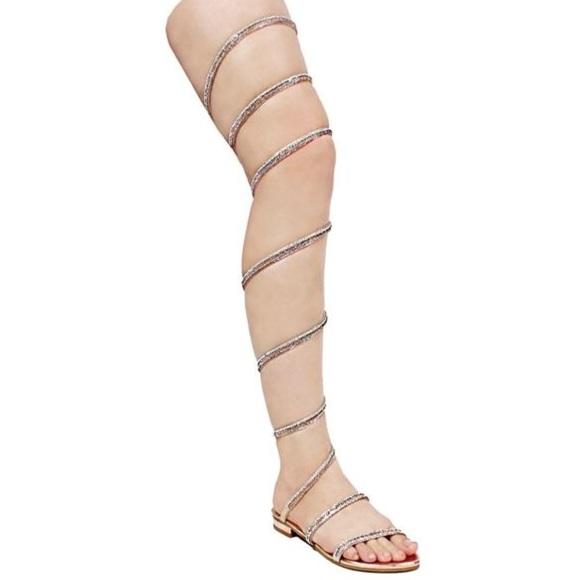 19121de5be9f Cuff Me Rhinestone Embellished Sandals. Boutique. Vigo Fiore
